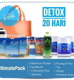 Jual Smart Detox Ultimate Pack Synergy HP 0813 8154 6943